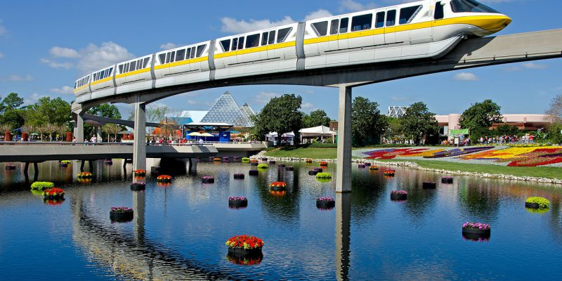 Disney World Monorail 2019